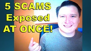 5 SCAMS exposed at once - Plus some great news // Binary Options Trading