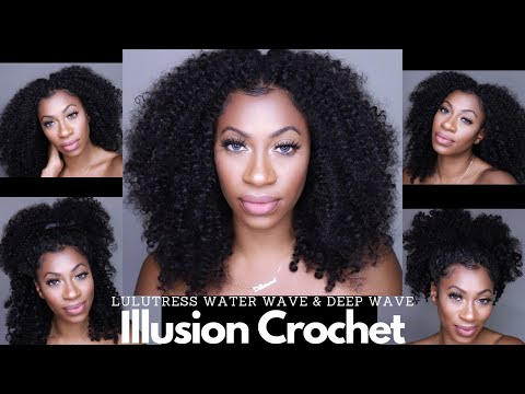 $20 Illusion Crochet & In Depth Blending Tutorial Ft. Lulutress Water Wave 12