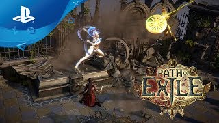 Path of Exile - Release Date Trailer [PS4]