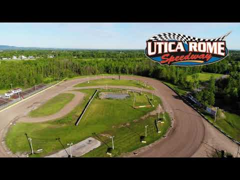 Utica Rome Speedway Drone Video 1