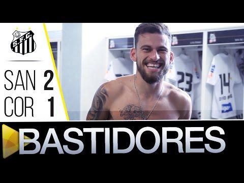 Santos 2 x 1 Coritiba | BASTIDORES | Brasileirão (22/05/16)