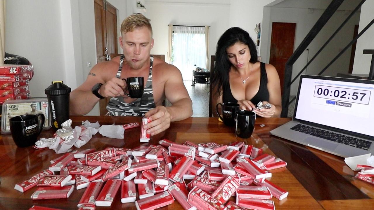 120 КИТКАТ ЗА РАЗ. CheatMeal Challenge. 120 KITKAT. 11000 calories. FAIL.