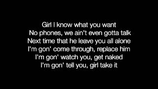 Trey Songz - Mr. Steal Your Girl lyrics