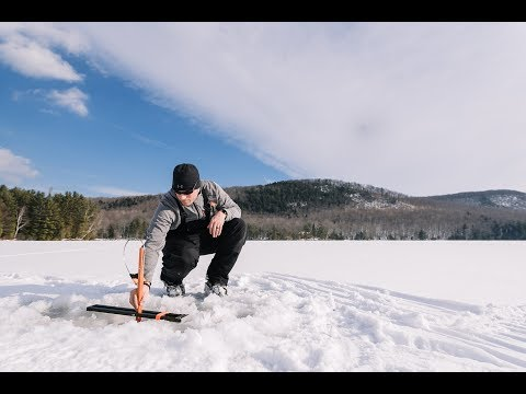 Ice Fishing In Maine