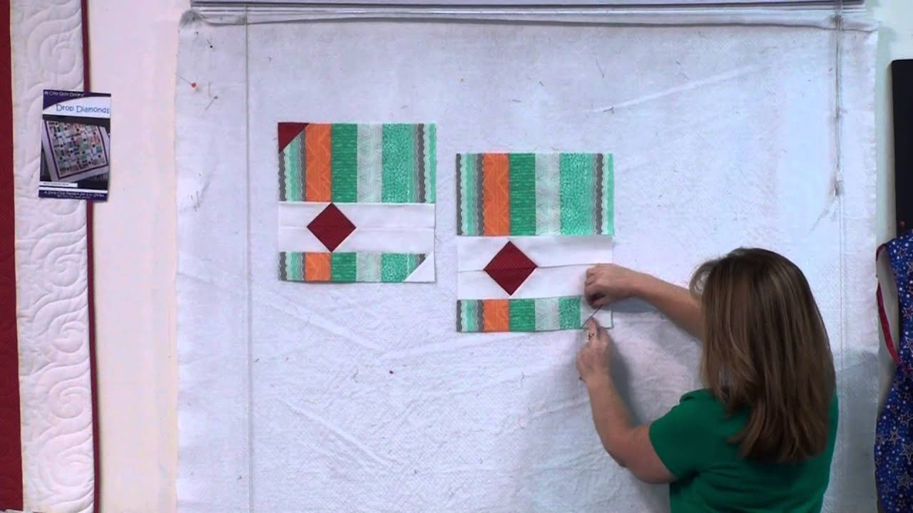 Drop Diamonds - Strip Pattern by Cozy Quilt Designs - YouTube : cozy quilts youtube - Adamdwight.com