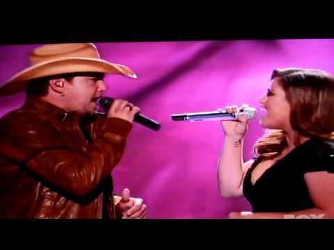 Kelly Clarkson, Jason Aldean, Don't You Wanna Stay, American Idol, 3/14/11, Result Night