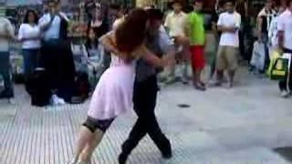 Argentine Tango Street Dancers