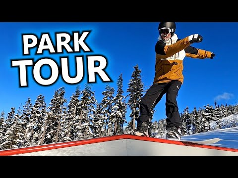 A Snowboard Tour Of The Blackcomb Terrain Park