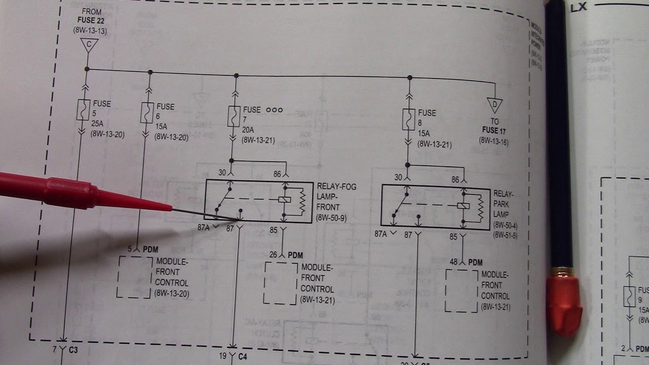 fog lamps don t work 2005 dodge magnum troubleshooting [ 1280 x 720 Pixel ]