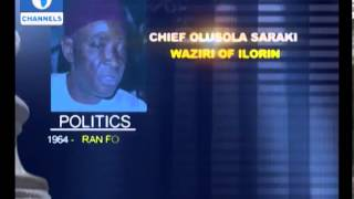 Profile of late Dr Olushola Saraki