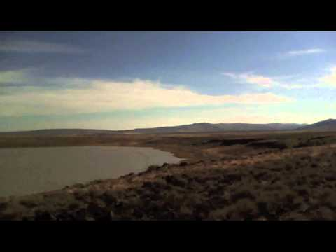 Petroglyph Lake, Hart mountain, Oregon