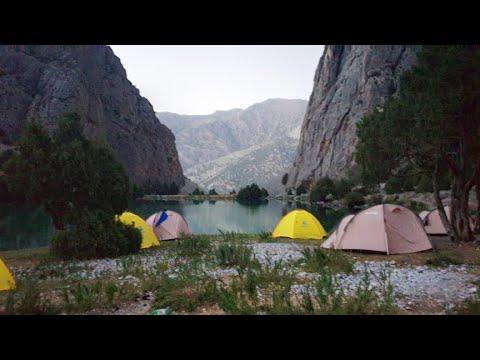 В Таджикистане кемпинг и походы стали снова популярны