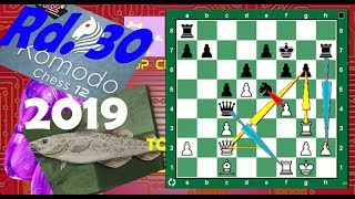 TCEC S14 Round30. Stockfish vs Komodo: When The Going Gets Tough