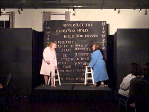 """A...My Name is Alice """"Friends"""" performed by Kirsten Rani Almeida & Mim Paquin"""