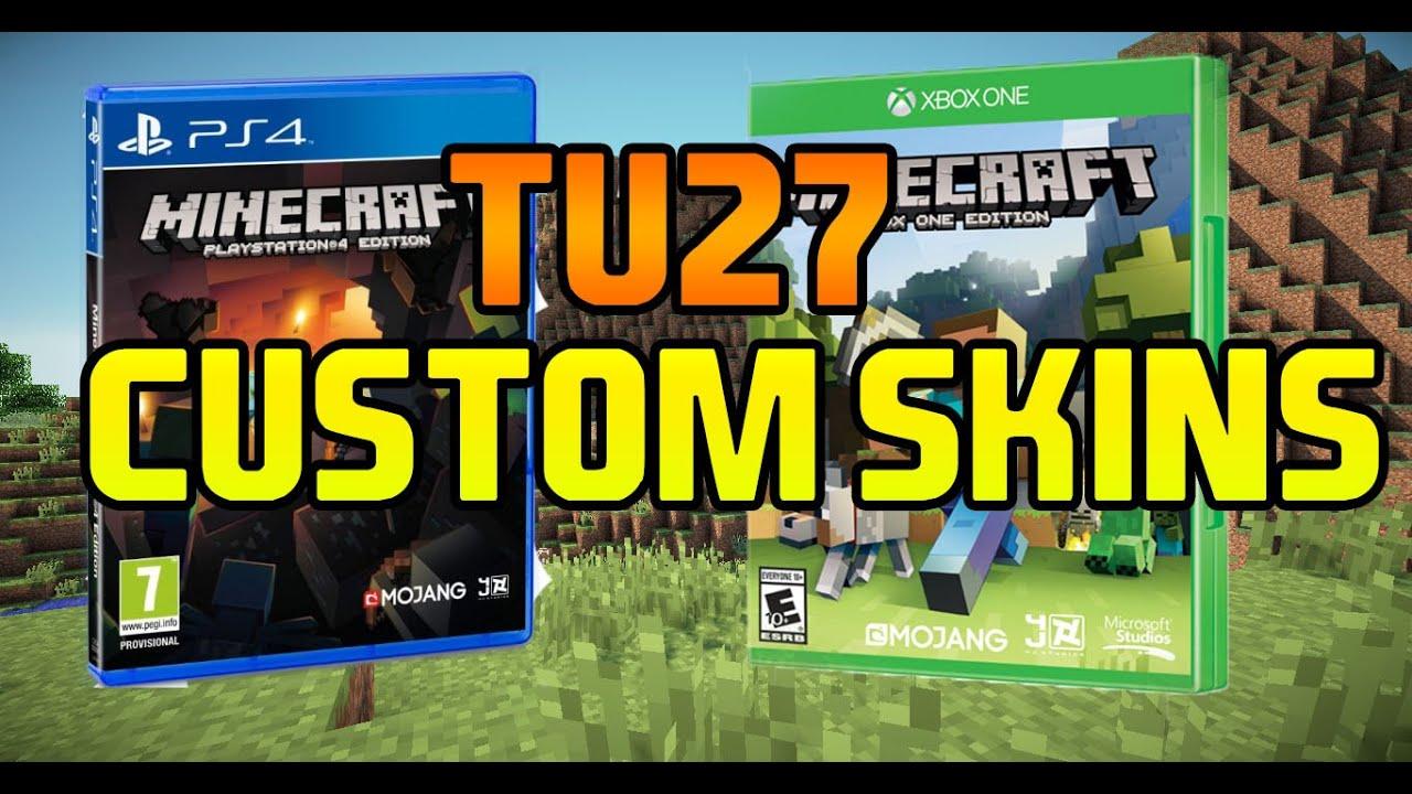 Minecraft   TU27   Custom Skins   PS4, Xbox One, PS3 ... Xbox One Skins Minecraft