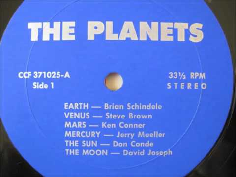 Planets : 1977 Side One -  private press electronic record album