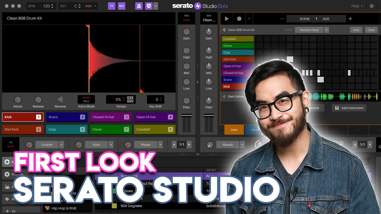 Serato Studio First Look - Beatmaking for DJs!