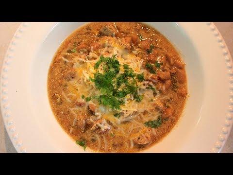 White Chicken Chili Crockpot Recipe: White Bean Chicken Breast Chili In A Slow Cooker
