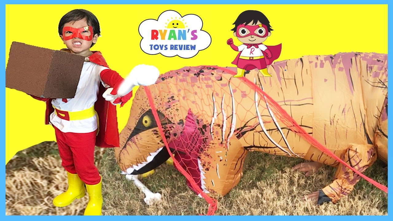 superhero kid ryan toysreview limited edition t shirt family fun for kids egg surprise toys youtube