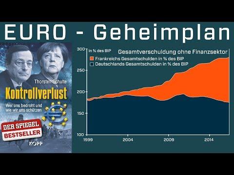 Euro: Was Frankreich plant und Merkel will. Gefahr für deutsche Sparer? Inflation oder Deflation?