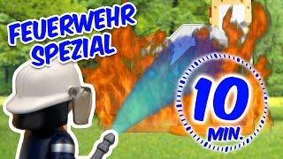 Gambar cover ⭕ Playmobil Feuerwehr - Brand in der der Kita Sonnenschein - Pandido TV