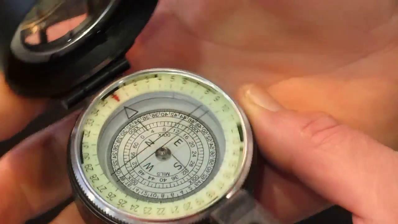 инструкция пользователя армейским компасом
