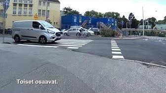 Huomioita liikenteestä 1057 -  Tunne liikennemerkit, kärkikolmio