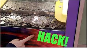 COIN PUSHER HACK! WIN MORE MONEY!!!!