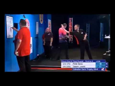 PDC Gibraltar Darts Trophy 2014 - First Round - Pete Dyos vs. Jason Lovett