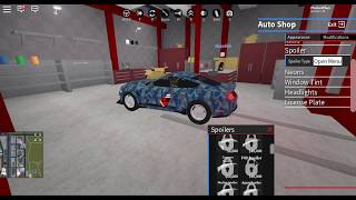 Buying the Shelby Super Snake and modding it. (Roblox Vehicle Simulator)