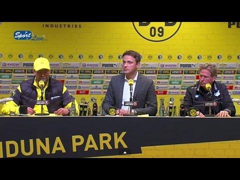 DFB Pokal : PK nach Bor. Dortmund - TSG 1899 Hoffenheim 3:2