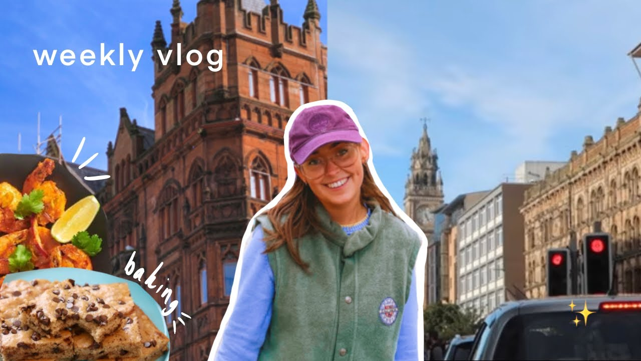 Download weekly vlog | shopping in belfast & working from home ✨🌻