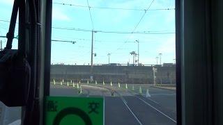 熊本市交通局A系統前面展望【田崎橋→熊本駅前→健軍町】