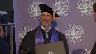 GCU Tennis Coach Earns PhD