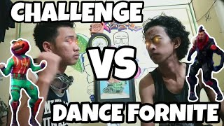 CHALLENGE DANCE FORNITE BATTLE, VERSUS MODE GOKILLLLL#FORNITEDANCE #CHALLENGE #FUNNY