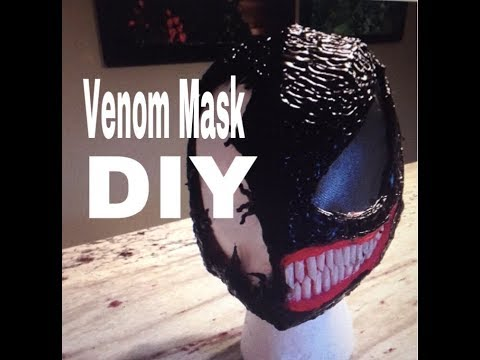 Venom Mask DIY - Cosplay