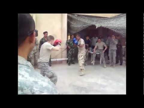 Iraq VS U.S. Boxing Bout 7