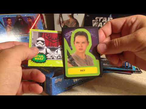 2017 Star Wars Cards Opening Series #19 - Topps Journey to the Force Awakens Hobby Box #1