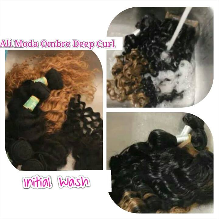 Curly Hair Wash Deep Condition Routine Aliexpress Ombre Deep