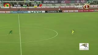 Percy Tau Goal against Nigeria