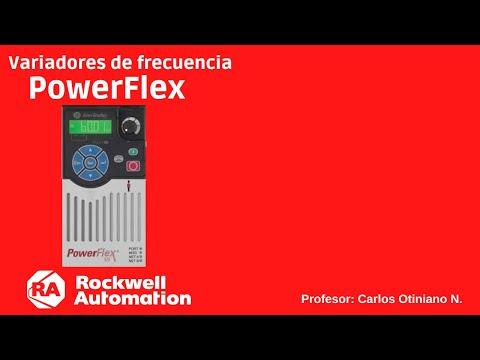 Variador frecuencia Powerflex 525 | Configuración básica