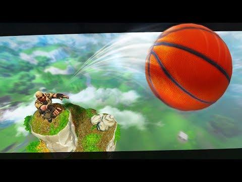 The LONGEST Basketball Shot Ever On Fortnite!