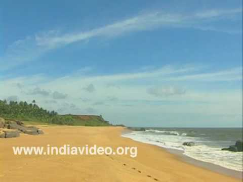 The Kappil beach of Kasaragod
