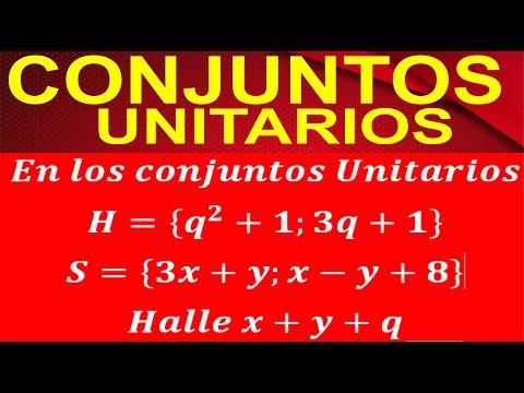 CONJUNTOS UNITARIOS HD