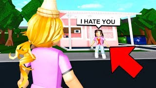 She Was My #1 HATER So I Changed Her LIFE! (Roblox Bloxburg)