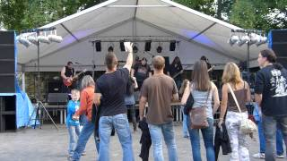 AMON AMARTH Pursuit cover OLD COCCOTS Rockové hradby 2013