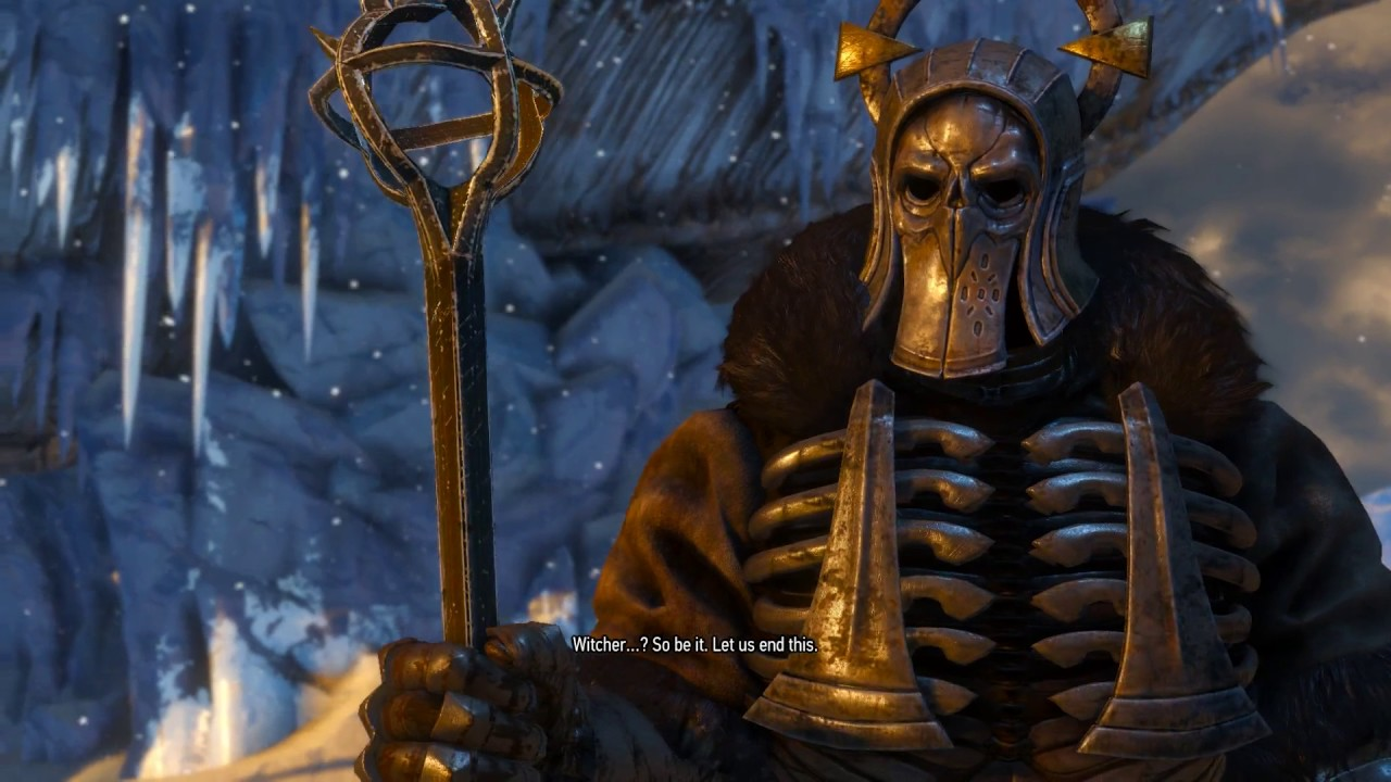 The witcher 3 caranthir boss pc gameplay fightdm no - The witcher 3 caranthir ...