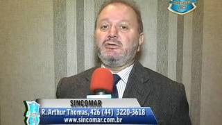 LEOCIDEZ FORNAZZA PRESIDENTE DO SINCOMAR DE MARIN´GA   14   06   2014