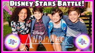 Andi Mack Disney Channel Stars Musical.ly Battle | Top Disney Stars Musically