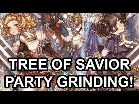 Tree of Savior English Level 125 Party Grinding